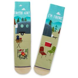 Fresh Air Camping Toe of a Kind Socks, , large
