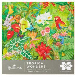 Tropical Wonders Jungle Rainforest 1000-Piece Jigsaw Puzzle, , large