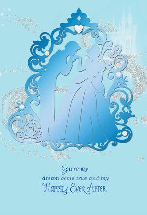 Cinderella My Dream Come True Anniversary Card
