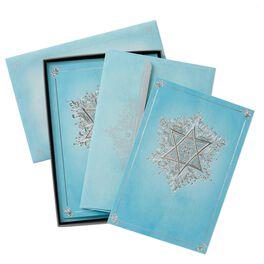 Embellished Star of David Hanukkah Cards, Box of 16, , large