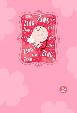 Cupid Arrow Musical Valentine's Day Card