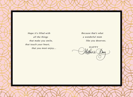 A Beautiful Day Just for You Mother's Day Card,