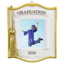 Graduation Photo Holder Ornament, , large