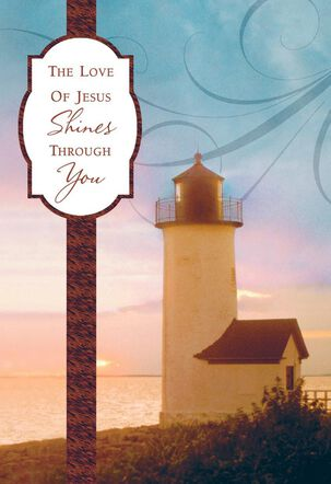 Shine for Him Clergy Appreciation Card