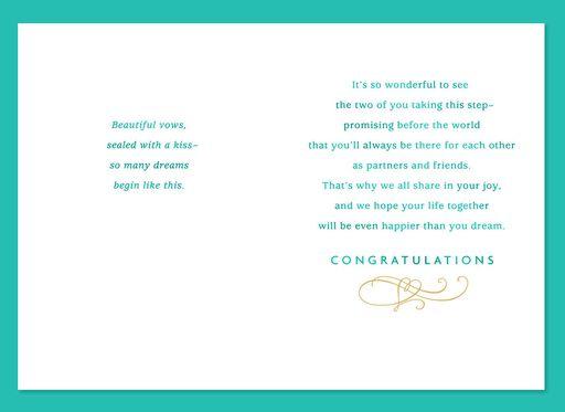 Happy Day Wedding Card,