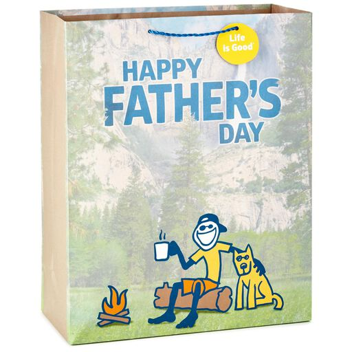 b7292d0f5 Life is Good® Happy Father's Day X-Large Gift Bag, 15.5