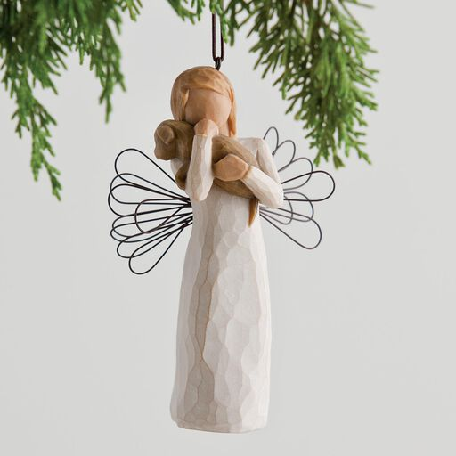 ... Willow Tree® Angel of Friendship Ornament, - Willow Tree Hallmark