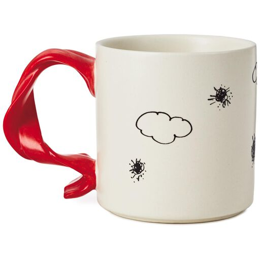 ae5a5848d2d8c ... Peanuts® Snoopy Flying Ace With Scarf Handle Mug
