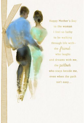 The woman i love mothers day card for wife greeting cards hallmark the woman i love mothers day card for wife m4hsunfo