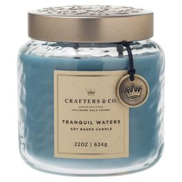 Crafters & Co. Tranquil Waters 22-oz Candle, , large