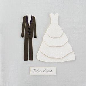 Feliz Vida Spanish-Language Wedding Card