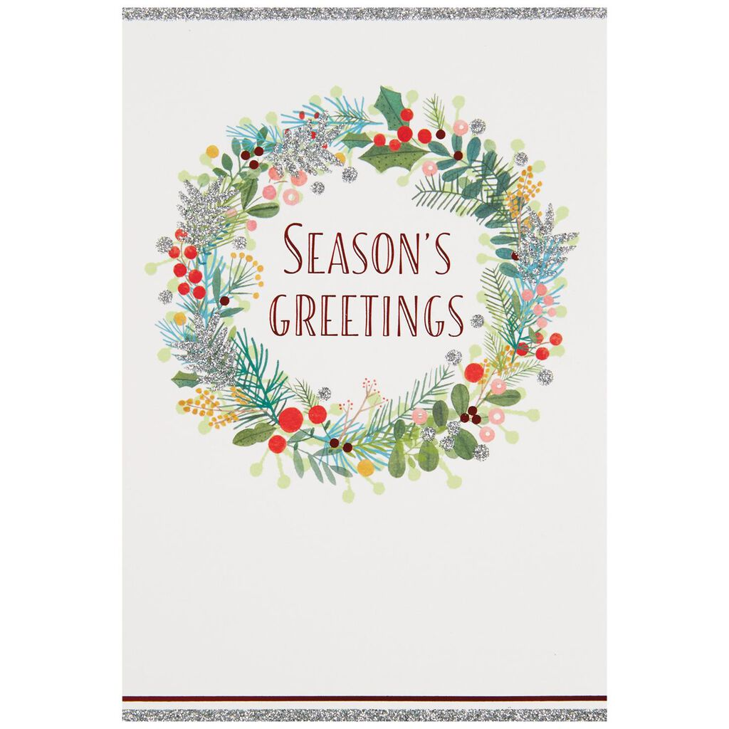 UNICEF Season\'s Greetings Christmas Cards, Box of 12 - Boxed Cards ...