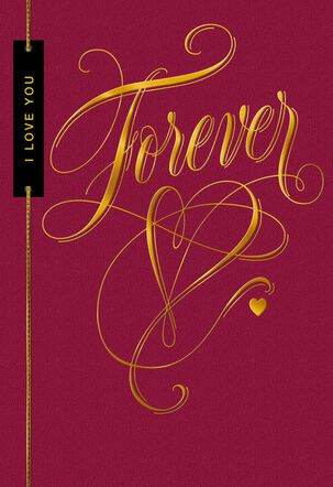 Love You Forever Sweetest Day Card
