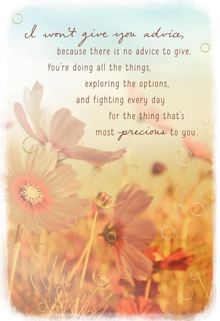 I give you my unending support encouragement card greeting cards i give you my unending support encouragement card greeting cards hallmark m4hsunfo