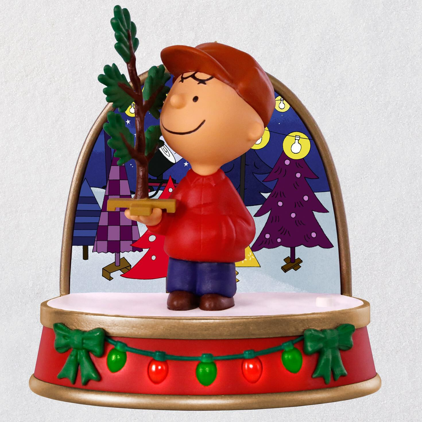 A Charlie Brown Christmas Charlie Brown Ornament With Sound and Light