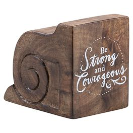 DaySpring Be Strong and Courageous Architectural Plaque, 2.75x4, , large