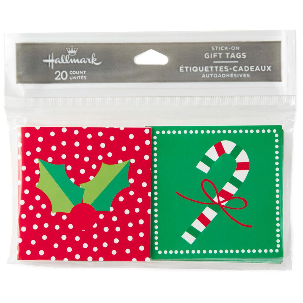 folded gift tags pack of 20 seals and gift tags hallmark