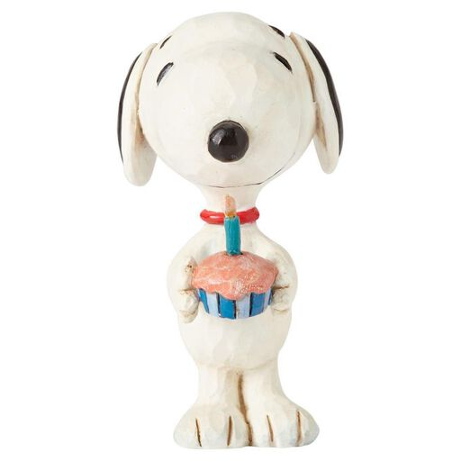 Jim Shore Peanuts Snoopy Birthday Mini Figurine
