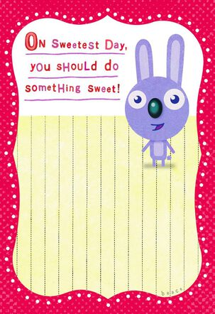 Do Something Funny Sweetest Day Card