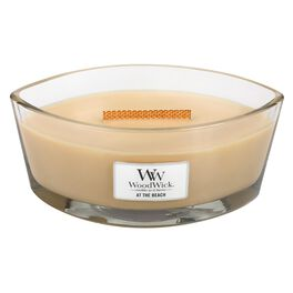 WoodWick® HearthWick Flame® Candle, At the Beach, , large