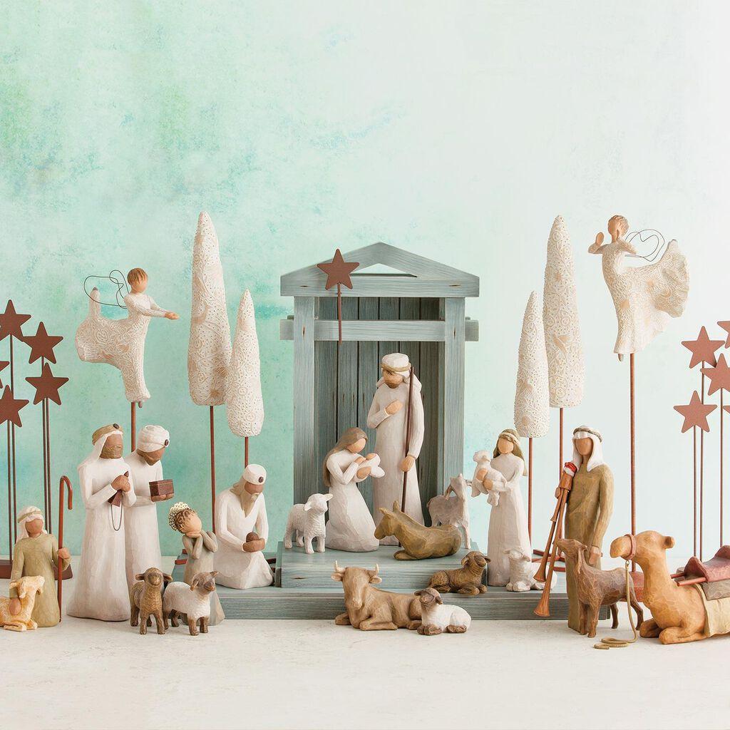 Willow Tree Nativity Figurines 6 Piece Set