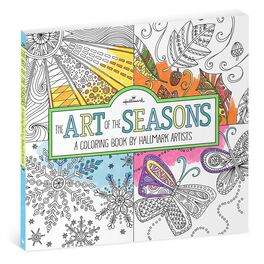 The Art of the Seasons—A Coloring Book by Hallmark Artists, , large