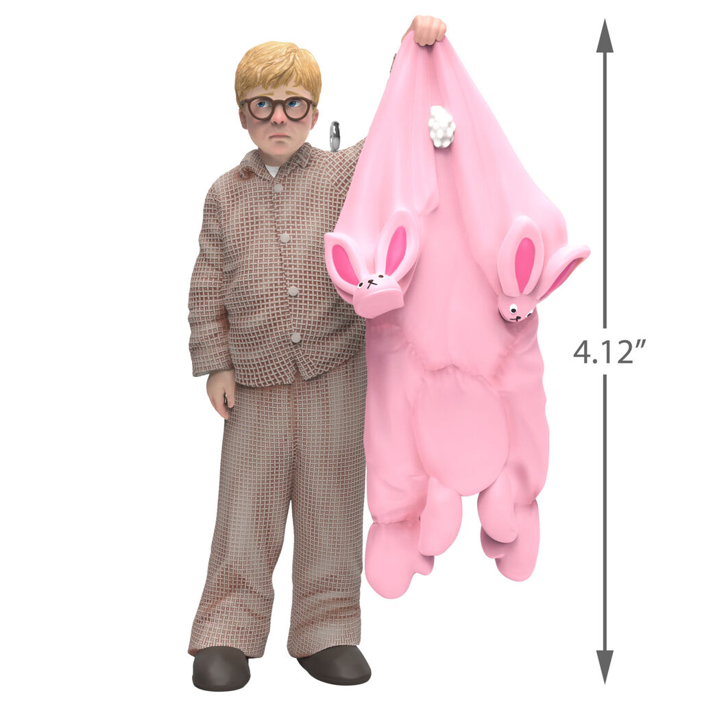 Christmas Story Bunny Suit.A Christmas Story Ralphie Gets A Gift Ornament