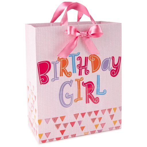 Birthday Pink Large Gift Bag 13