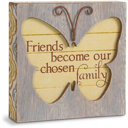 Friend Butterfly Plaque, , large