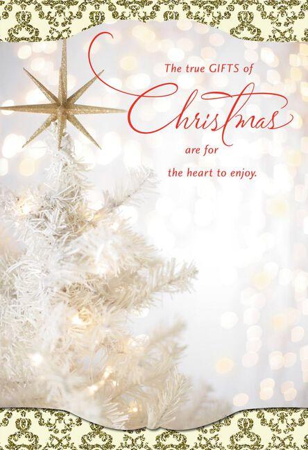 true gifts religious christmas card - Religious Christmas Cards