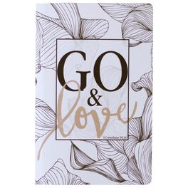 Go & Love Journal, 6x8.5, , large
