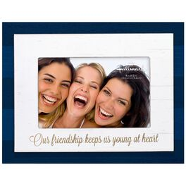 Friendship Stripe Wood Photo Frame, 4x6, , large