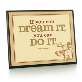 If You Can Dream It Plaque, , large