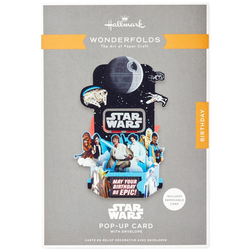 Star WarsTM Epic Pop Up Birthday Card