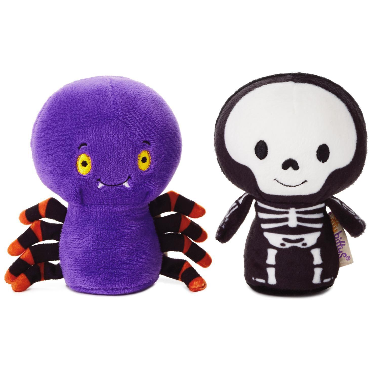 itty bittys® Halloween Spider and Skeleton Stuffed Animals, Set of 2 - itty  bittys® - Hallmark - Itty Bittys® Halloween Spider And Skeleton Stuffed Animals, Set Of