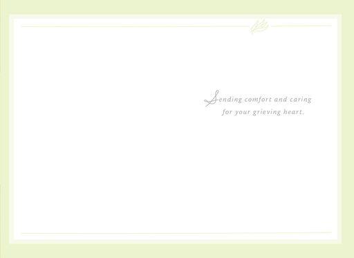 Palm Leaf Sympathy Card,