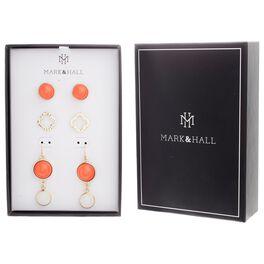 Mark & Hall Earrings, Set of 3, , large