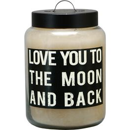 Primitives by Kathy Love You to the Moon & Back Candle, 26-oz, , large