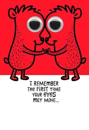 Love at First Sight Funny Sweetest Day Card