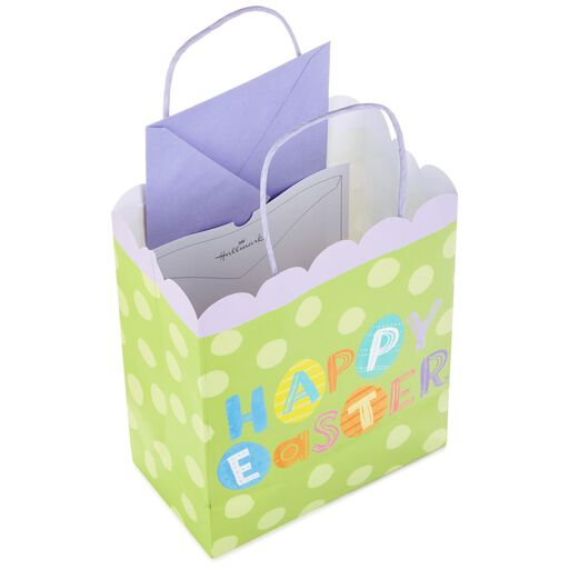 a973584dd449 ... Happy Easter on Green Medium Gift Bag