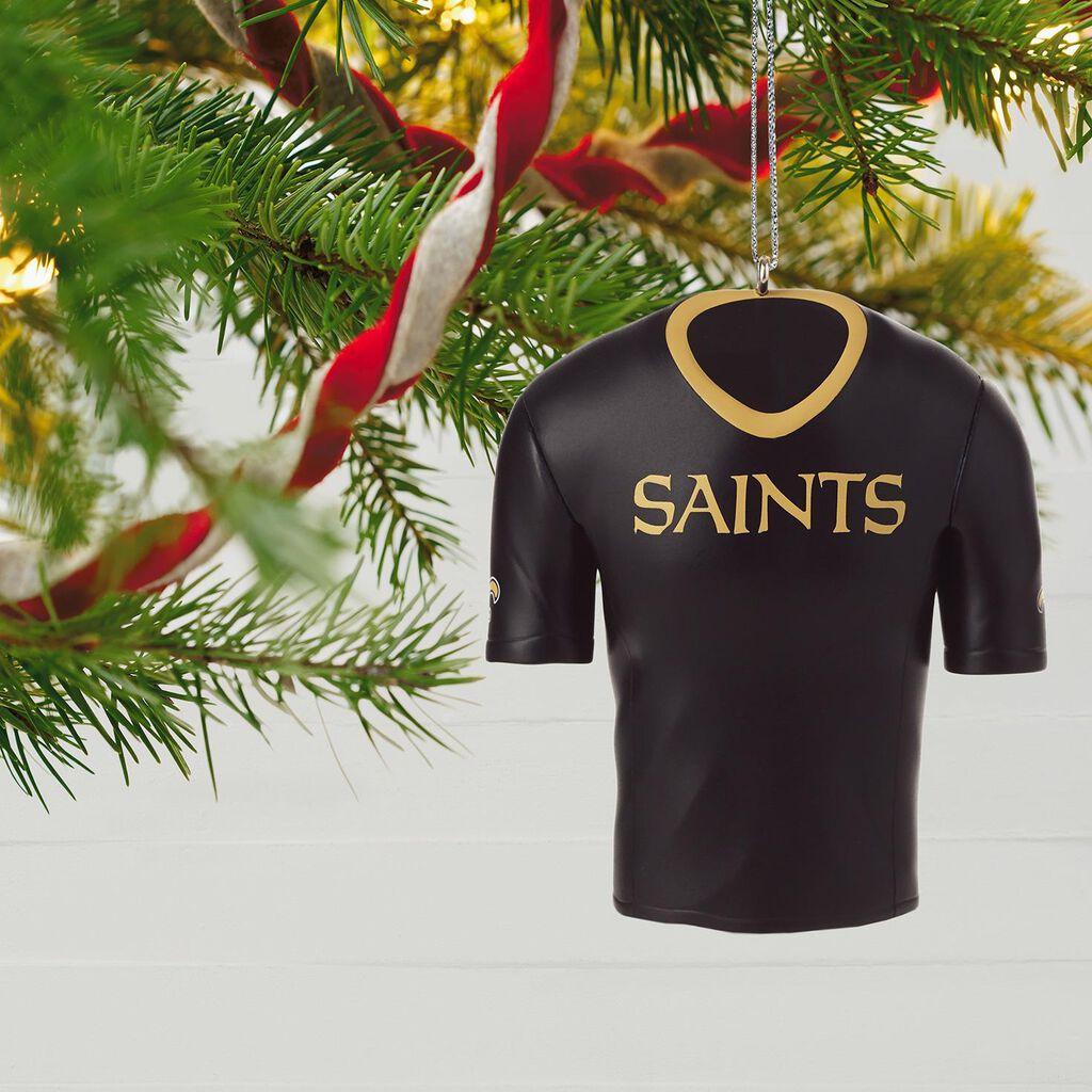 New Orleans Saints Jersey Ornament - Keepsake Ornaments - Hallmark