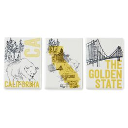California Magnets, Ceramic Set of 3, , large