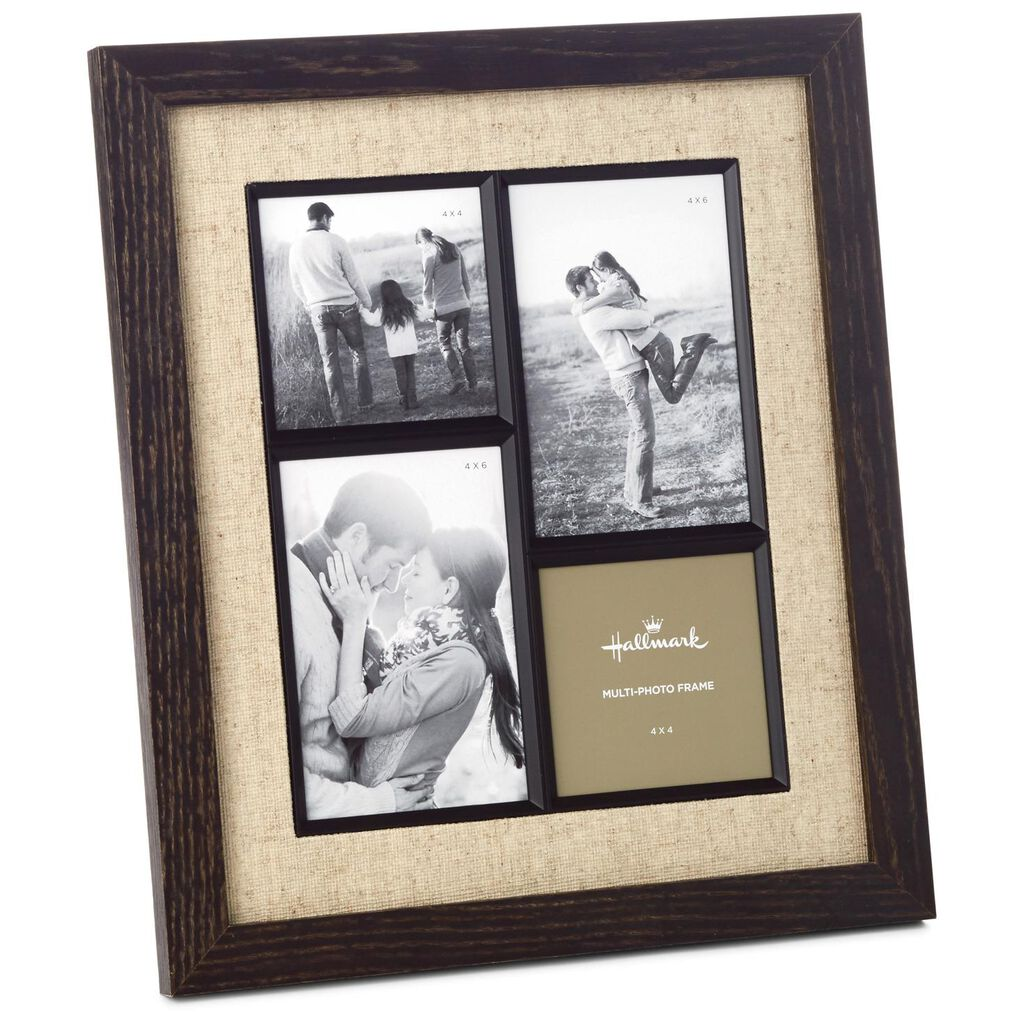 Rustic 4-Photo Collage Picture Frame - Picture Frames - Hallmark