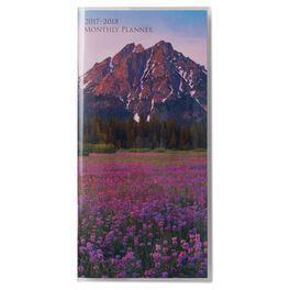 Scenic 2017-2018 Monthly Pocket Calendar, , large