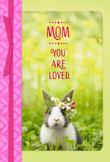 Mom, You Are Loved Easter Card,