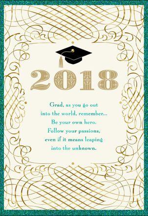 Faith and Prayers Graduation Card