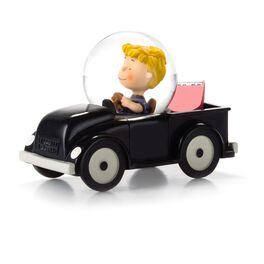 Peanuts® Schroeder Collectible Box Car Water Globe, , large