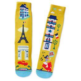Francophile Toe of a Kind Socks, , large