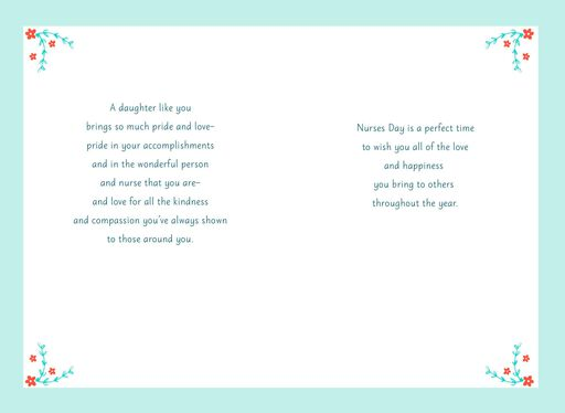Nurses day greeting cards all your compassion nurses day card for daughter m4hsunfo