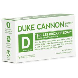 Duke Cannon Supply Co. Big Ass Brick Of Soap, Productivity Scent, , large